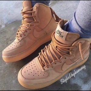 🌸 NIKE Air Force 1 High Top Sneakers Shoes